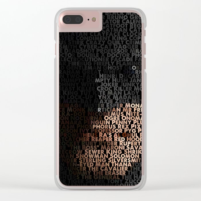 You Are Who You Beat. Clear iPhone Case