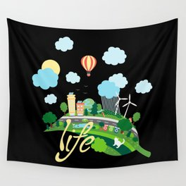 Eco Life Wall Tapestry