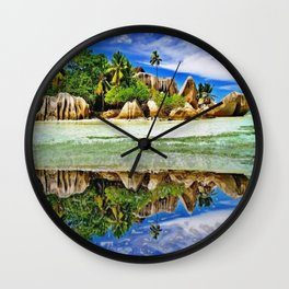 The Colos of Nature 2 Wall Clock