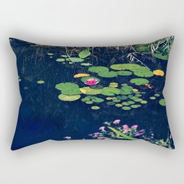 lily in the pond Rectangular Pillow
