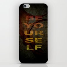 BE YOURSELF iPhone & iPod Skin