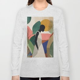 Tropical Girl Long Sleeve T-shirt