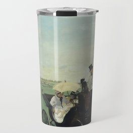At the Races in the Countryside Travel Mug