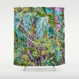 Budding in the rainforest Shower Curtain