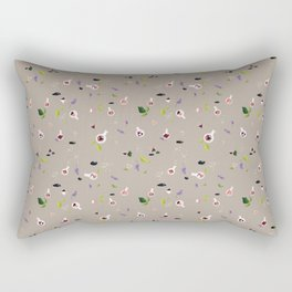 Polyhedral Dice- Alchemist's Table Rectangular Pillow