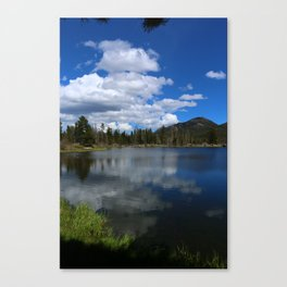 Sprague Lake Reflection Canvas Print
