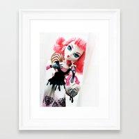 monster high Framed Art Prints featuring Monster High  by Hannica