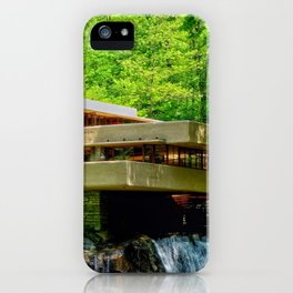 Frank Lloyd Wright | architect | Fallingwater iPhone Case