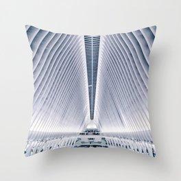 Oculus / World Trade Center Station Throw Pillow