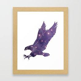 Universe in Eagle Framed Art Print