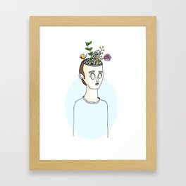 Creative Mind Framed Art Print