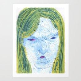 potato portrait Art Print