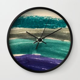 OceanVibes Wall Clock