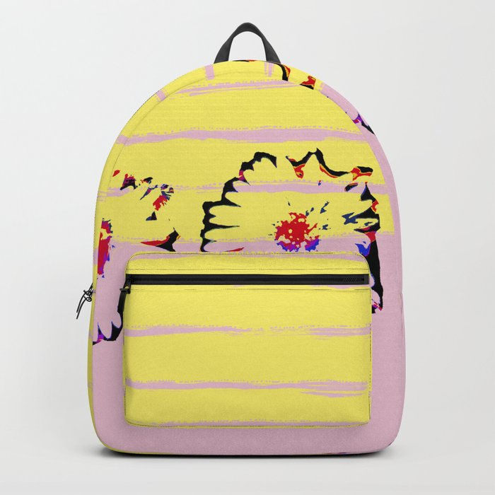 Stripes and flowers Backpack