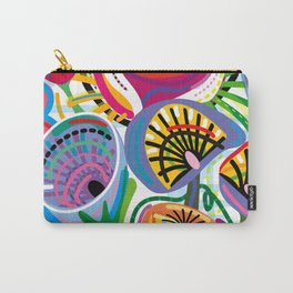 Flower Trip (Square) Carry-All Pouch