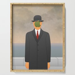 Magritte x Apple Serving Tray