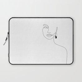 Black Earring Laptop Sleeve