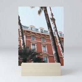 San Remo | ITaly | Flower Riviera, coast pink-peach-white travel photography poster Mini Art Print