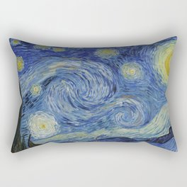 The Starry Night Rectangular Pillow