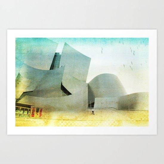 Walt Disney Concert Hall _ Los Angeles Art Print