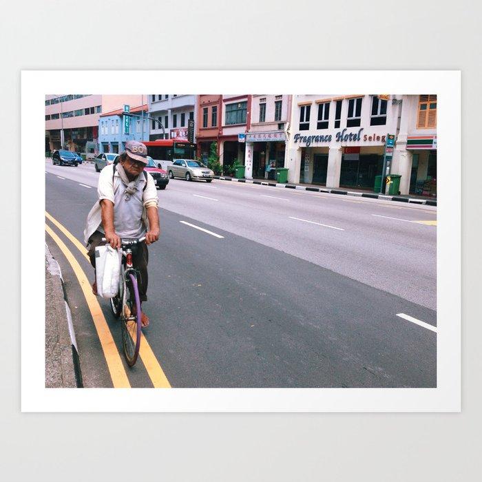 Cycle Through, Mister Art Print