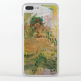 Sandpaper Skin Clear iPhone Case