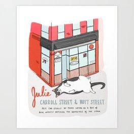 Brooklyn Bodega Cats - Julie Art Print