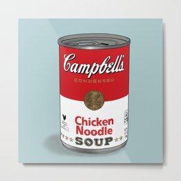 Chicken Soup Metal Print