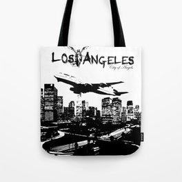 Los Angeles: City of Angels Tote Bag