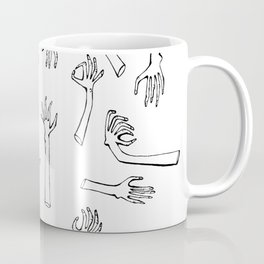 Severed Hands Coffee Mug