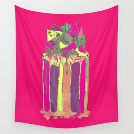 Super Hyper Cake Wall Tapestry