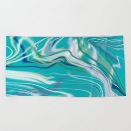 Poolwater-1 Beach Towel