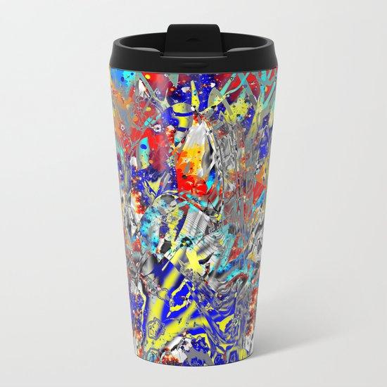 ice and fire friend Metal Travel Mug