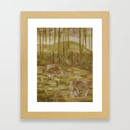 Betsy and Friends Framed Art Print