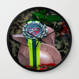 You Watch My Back And... Wall Clock