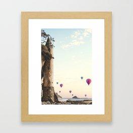 The Tower in Laguna Beach California Framed Art Print