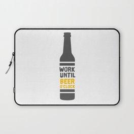 Beer Bottle Laptop Sleeve