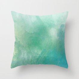 Mountain Sound Throw Pillow