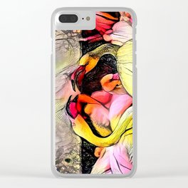 Gabbling Clear iPhone Case