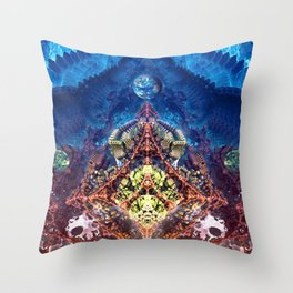 Exploring the Unknown Throw Pillow