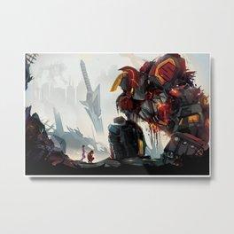 Fallen Heroes Metal Print