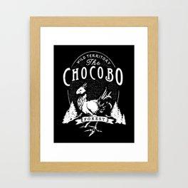 The Chocobo Forest Framed Art Print