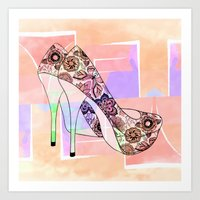The Right Shoes 2 Art Print