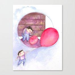 Billy's Balloon 02 Canvas Print