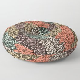 Ink Pattern no.2 Floor Pillow