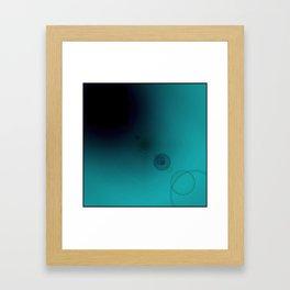 Shadow Flare Framed Art Print