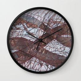 Stare-Down Be it Love or Death Wall Clock