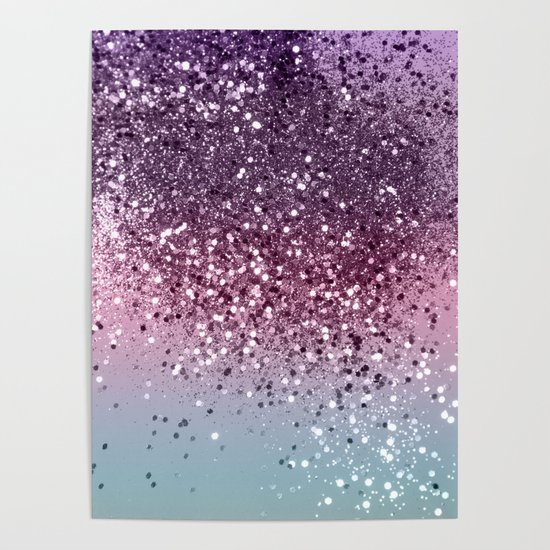 Unicorn Girls Glitter #6 #shiny #pastel #decor #art #society6 by anitabellajantz