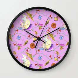 Stu's delightful meditation Wall Clock