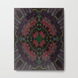 Amethyst Jewel Metal Print